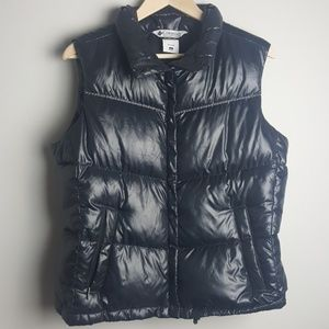 Columbia down puffy vest (L)